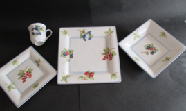 China place setting in Ramstein, Germany