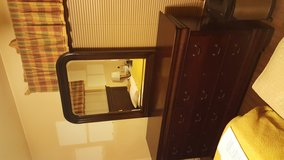 Wood dresser w/mirror in The Woodlands, Texas