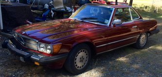 1979 Mercedes Benz 450SL. 2 seater convertible in Fort Polk, Louisiana