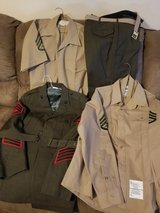 USMC Service & Dress Uniforms (multiple items) in Cherry Point, North Carolina