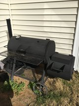 Real cast Iron heavy duty carcoal smoker grill in Columbus, Georgia