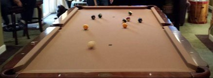 Olhausen Pool table in Quantico, Virginia