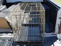 dog cages in Fort Knox, Kentucky