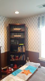 Wood Book Shelf in Quantico, Virginia
