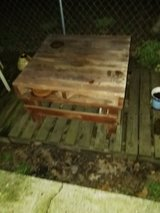 Pallet wood table in Fort Benning, Georgia