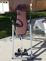 Inversion table in Camp Pendleton, California