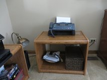 PRINTER FAX TABLE or LP RECORD Holder - 2 Available - LIKE NEW! in Lockport, Illinois