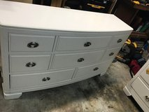 Dresser and Bedside End Table in Kingwood, Texas