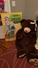 Teddy Bear and Card Baby Shower Gift in Lockport, Illinois