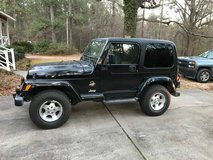 2001 jeep wrangler 4x4 in Byron, Georgia