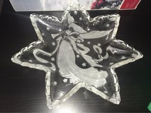 beautiful 13 inch glass angel plate in Wright-Patterson AFB, Ohio
