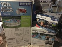 Intex Pool w/pump and saltwater system in Naperville, Illinois