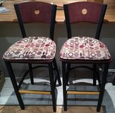 BAR STOOLS x2 WITH CUSHIONS in Lakenheath, UK
