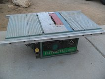 ++  Hitachi Table Saw  ++ in Yucca Valley, California