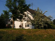 Cozy 4bed-/2bath-house with large garage, patio & lawn in Spangdahlem, Germany