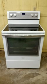 "whirlpool 30"" electric range-white in Joliet, Illinois"