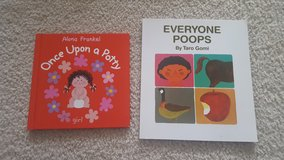 Once Upon a Potty Girl and Everyone Poops books in Wheaton, Illinois
