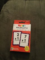 Flash cards, Multiplication in Naperville, Illinois