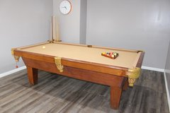8 ft Olhausen Pool Table in Kingwood, Texas