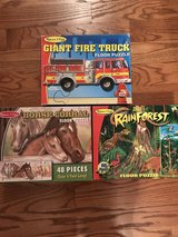 3 Melissa and Doug Floor puzzles in Bartlett, Illinois