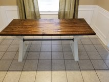 Custom farmhouse table in Fort Gordon, Georgia