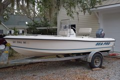 17' Sea Pro w/ 90hp Yamaha in Beaufort, South Carolina