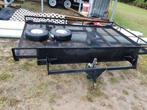 trailer is 5 x 8 with 2 swivel wheels in Camp Lejeune, North Carolina