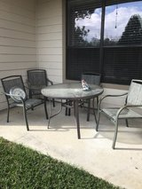 patio furniture in Spring, Texas