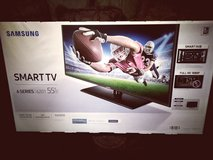 Samsung flat screen smart TV 6 series 6201 55'' with color enhancer  Netflix Pandora in it email... in Fort Polk, Louisiana