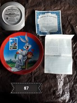 Bugs Bunny collectible plate in Vacaville, California