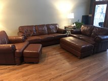 Leather Living Room Set in Morris, Illinois