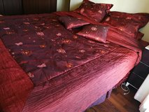 bed set 8 pieces king size in Okinawa, Japan