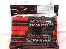 Master of muscle power lifting straps 24 inches in Fort Campbell, Kentucky