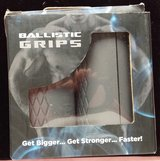 Ballistic grips thick bar dumbbell /barbell grip adapters. Gray. Medium in Fort Campbell, Kentucky