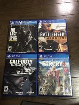 PS4 Games, looking to trade in Okinawa, Japan