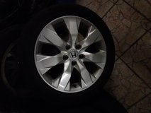 Honda Accord Tires and rims 4x 225/50/17 in Baumholder, GE
