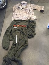 Desert MR top and ML bottoms/ Running suit in Camp Pendleton, California