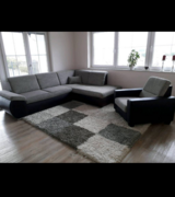 L-shape couch and recliner in Baumholder, GE