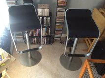 Chrome and black leather padded adjustable seats new.  I have 4 chairs. Perfect counter chairs. in Mayport Naval Station, Florida