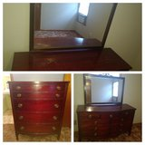 Cherry wood - dresser and Chester drawer. in Warner Robins, Georgia