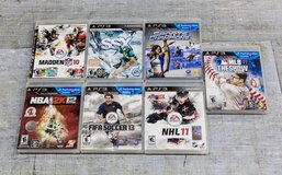 7 ps3 games in Ramstein, Germany