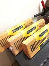 """18"""" Solid Oak Baseboard Registers / Air Vent in Glendale Heights, Illinois"""