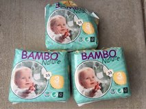 Bambo natural diapers size 3 in Camp Pendleton, California