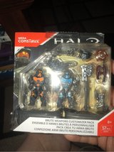 Mega Construx Halo Brute Weapons Customizer Pack Building Kit in Kingwood, Texas