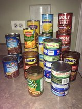 PENDING PICKUP: Free Canned Goods!! Beans, Soups, Chili, Veggies in Chicago, Illinois