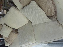 Sofa/couch and pillows deliverd in Hinesville, Georgia