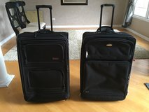 """Black Suitcase Full-Size 30"""" Wheeled Luggage in Excellent Condition - 2 for sale!! in Lockport, Illinois"""