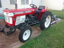 Yanmar YM2000 Tractor w/ Boom, 3 pt. hitch, spare engine, and misc. parts in Perry, Georgia