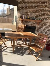Patio Table w/6 chairs and umbrella in Perry, Georgia