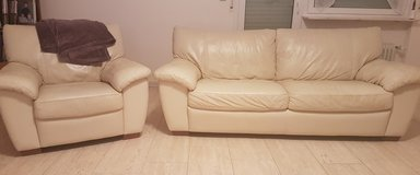 ***Leather Chair and Sofa*** in Stuttgart, GE